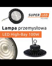 Lampa przemysłowa High-Bay 100W - idealne oświetlenie obiektów przemysłowych i nie tylko!